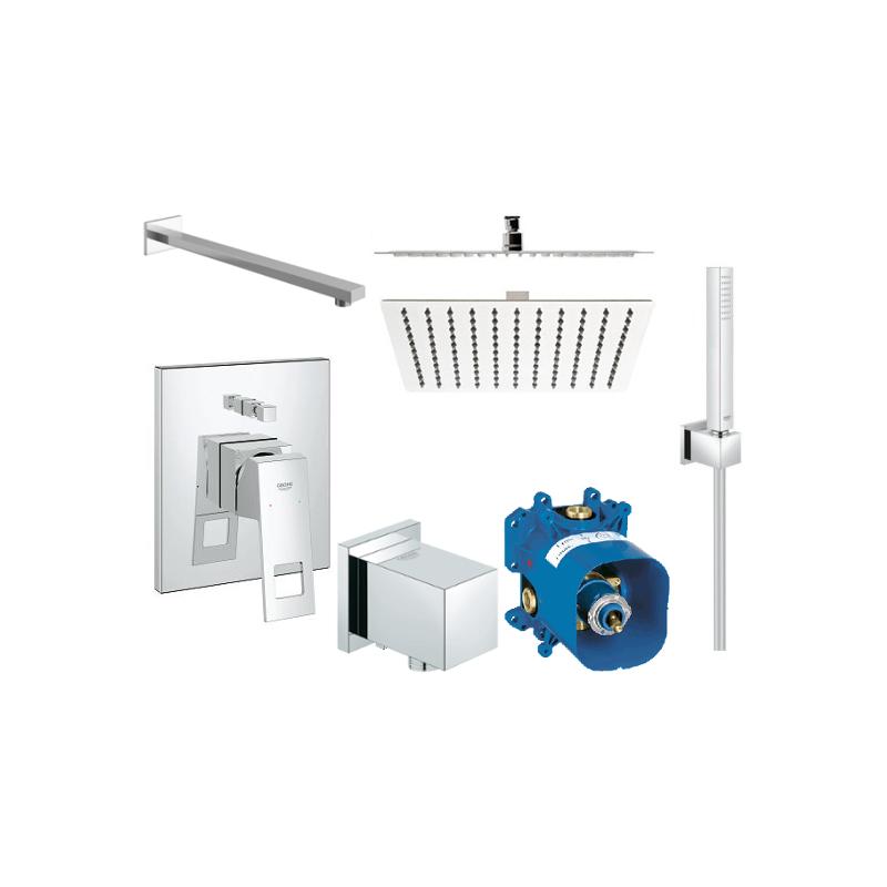 Sprchový set podomítkový GROHE EUROCUBE bez termostatu 25 CM