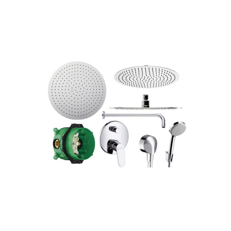 Sprchový set podomítkový HANSGROHE FOCUS E2 01800180 + 31945 + 27454 + 27592 + 20 (mix výrobců)