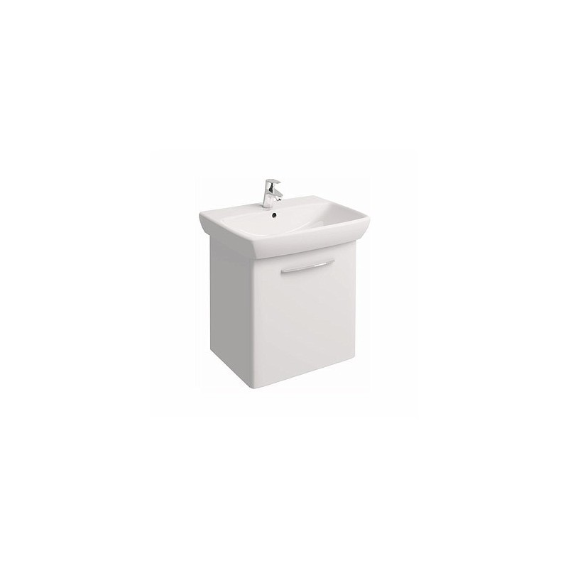 Umyvadlová skříňka s umyvadlem KOŁO NOVA PRO 65 cm - lesklá bílá