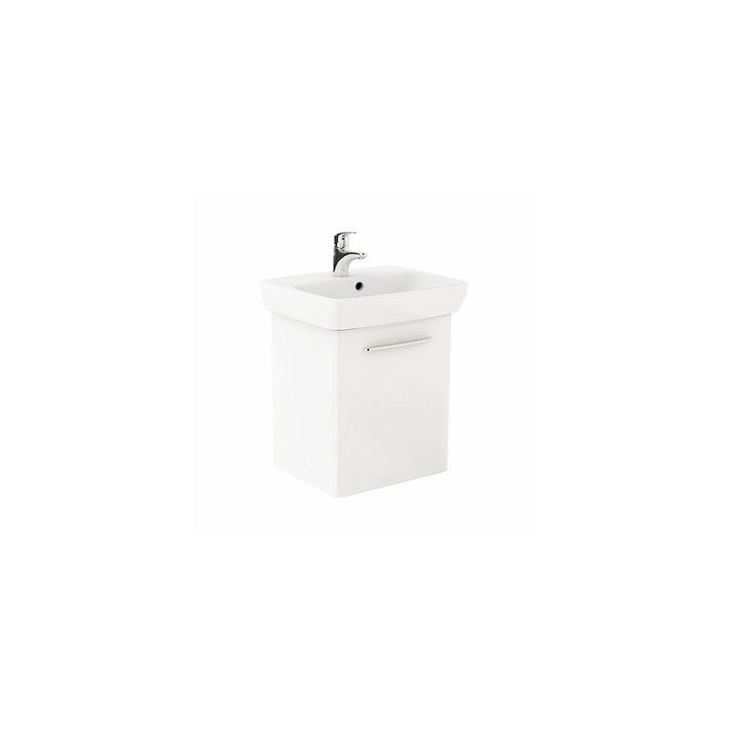 Umyvadlová skříňka s umyvadlem KOŁO NOVA PRO 55 cm - lesklá bílá