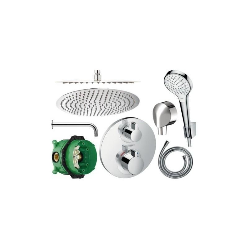 Sprchový set podomítkový HANSGROHE TERMOSTAT (mix výrobců)
