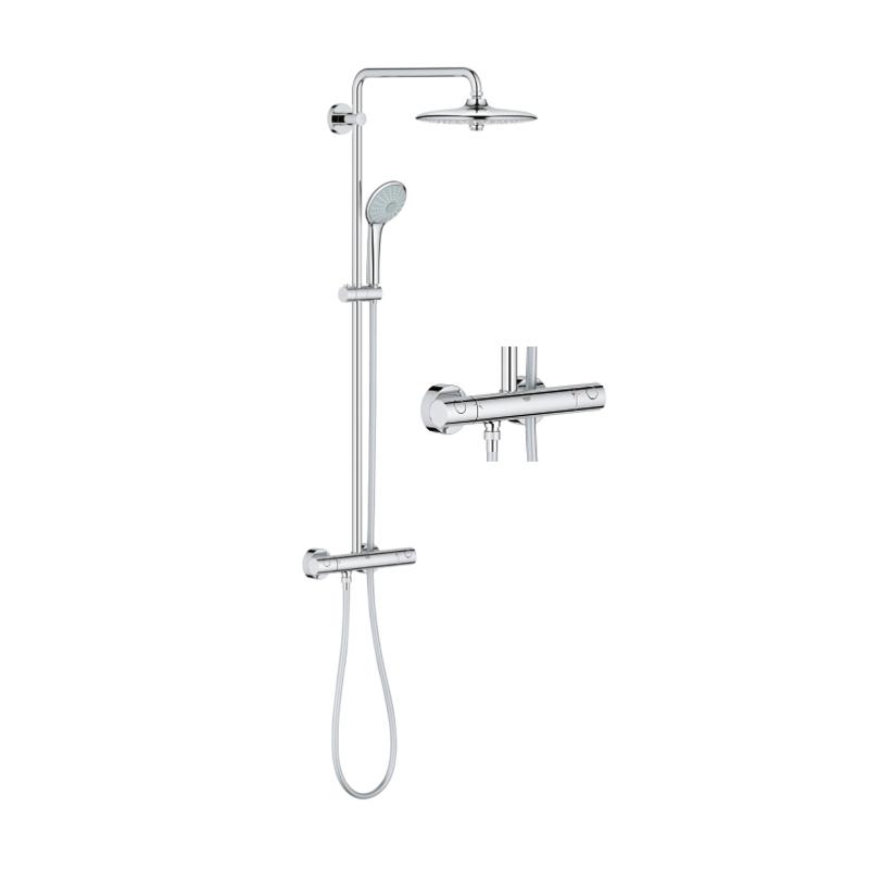 Sprchový set na stěnu GROHE EUPHORIA SYSTEM 260 chromovaný 27296002