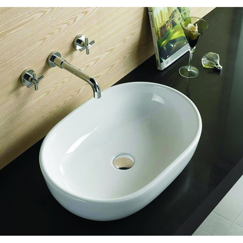 Keramické umývadlo na dosku Mexen Viki 48