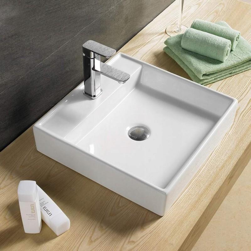 Umývadlo na dosku MEXEN BLANCA 44x44 cm
