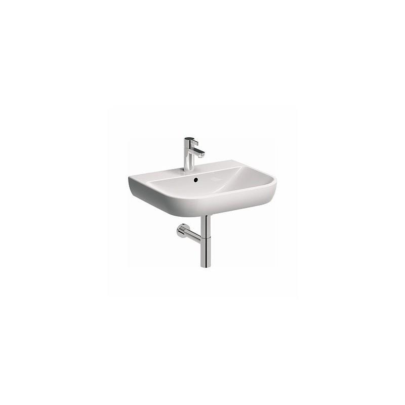 Keramické umyvadlo klasické KOŁO TRAFFIC 60x48 cm bílé L91160000