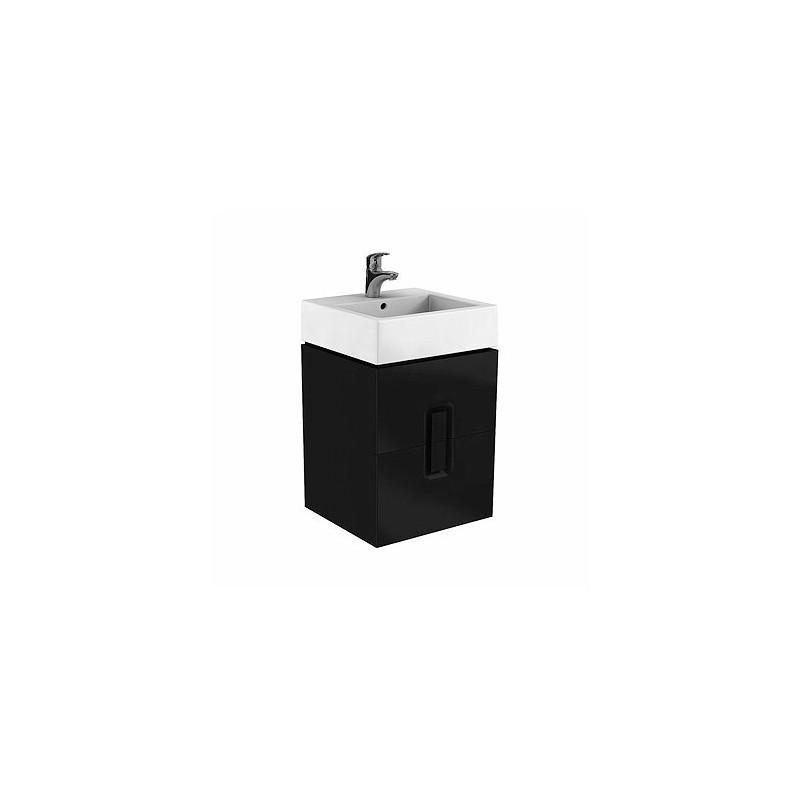Skříňka pod umyvadlo KOŁO TWINS - černá