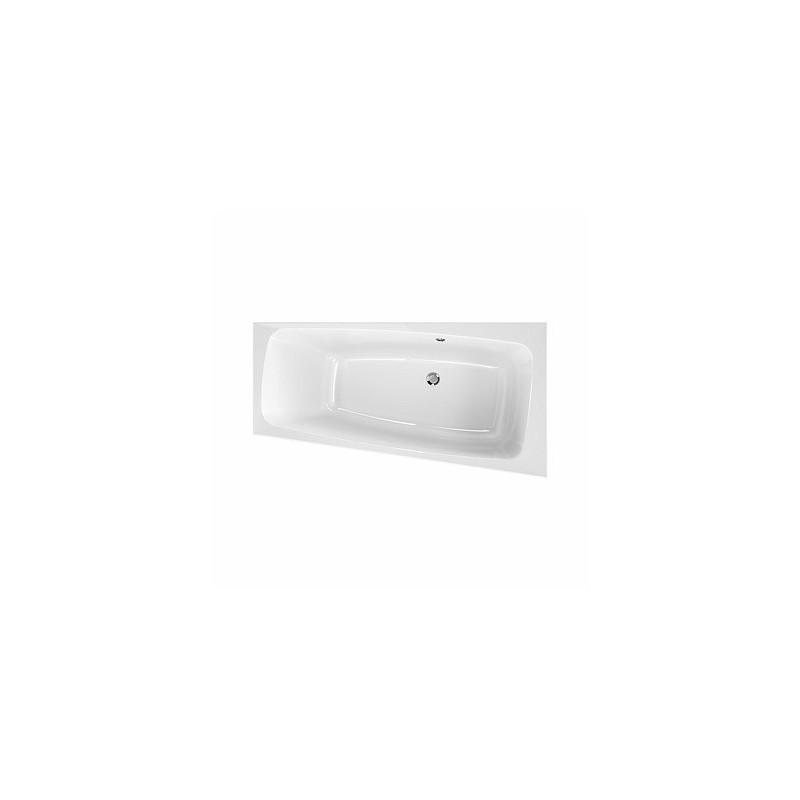 Asymetrická vana KOLO SPLIT 170x90 - bílá, pravá