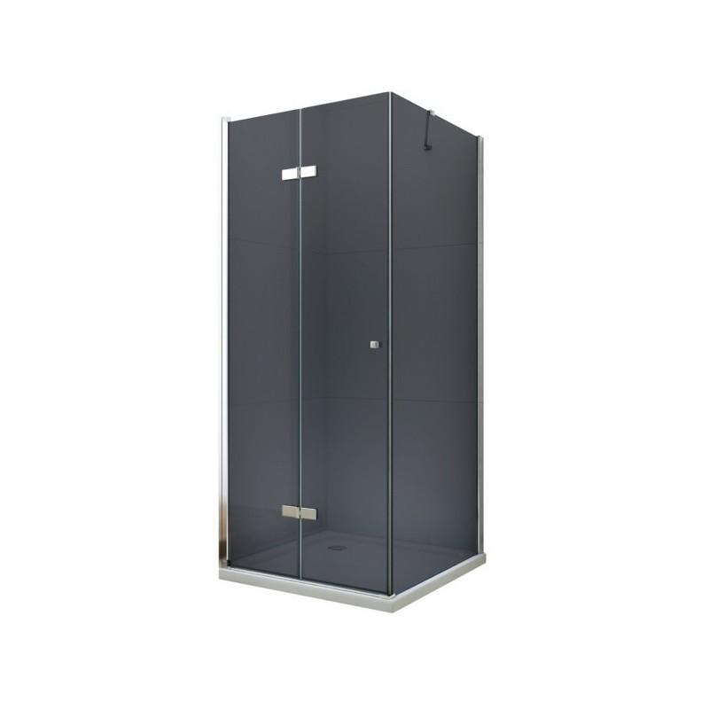 Sprchovací kút Mexen Lima Grey 90 × 80 cm