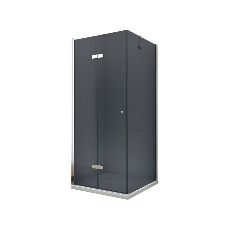 Sprchovací kút Mexen Lima Grey 80 × 110 cm