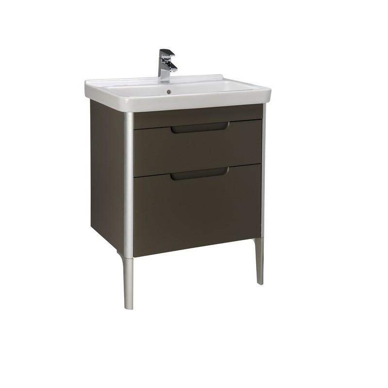 Umyvadlová skříňka s umyvadlem ROCA DAMA-N 65 cm - taupe