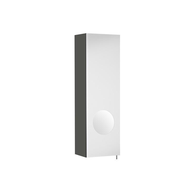 Tenká kúpeľňová skrinka ROCA LUNA - wenge
