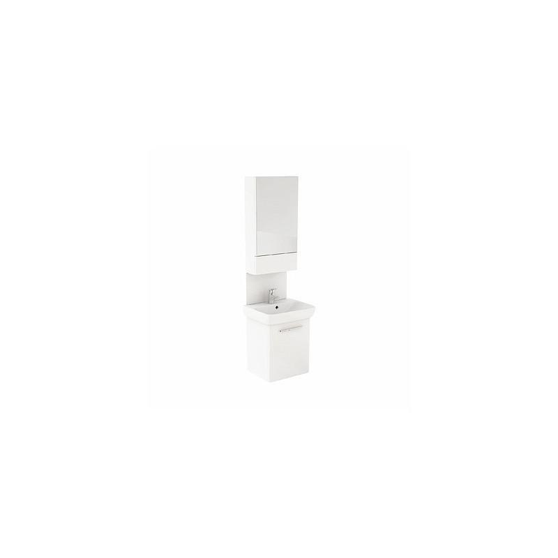 Umývadlová skrinka s umývadlom KOŁO NOVA PRO 55 cm - biely lesk