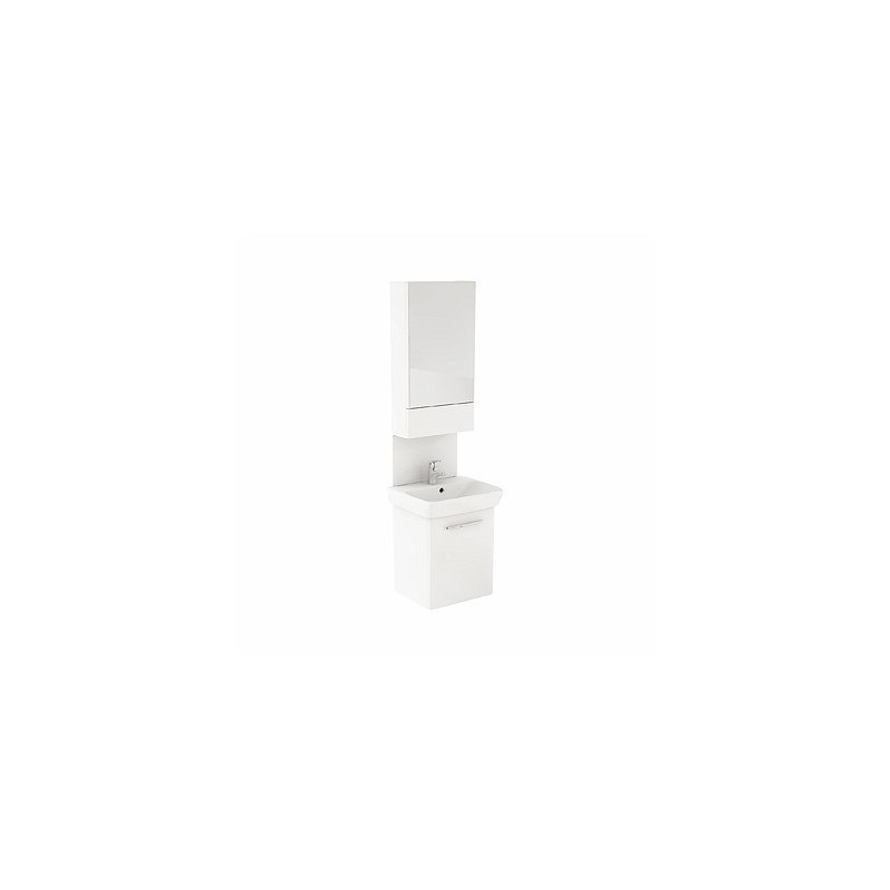 Umývadlová skrinka s umývadlom KOŁO NOVA PRO 60 cm - biely lesk
