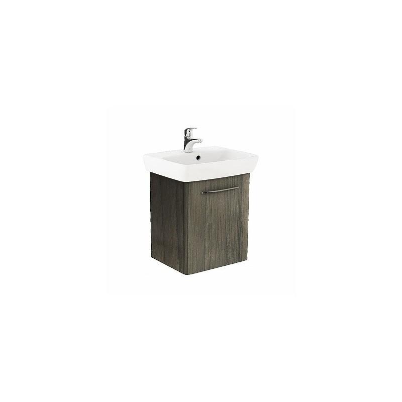 Umývadlová skrinka s umývadlom KOŁO NOVA PRO 55 cm - sivý popol