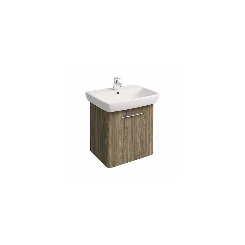 Umývadlová skrinka s umývadlom KOŁO NOVA PRO 65 cm - sivý popol