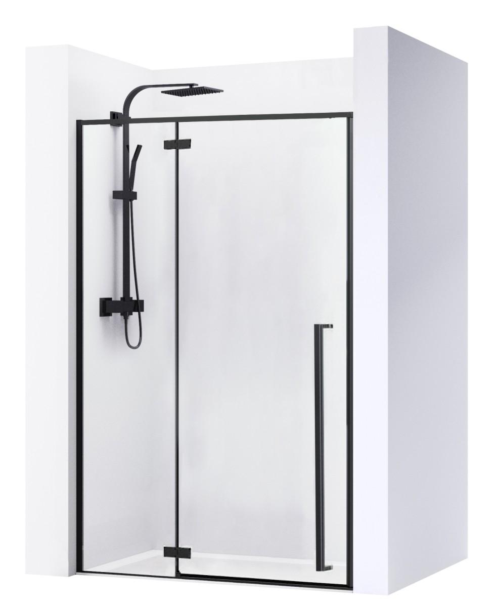 Sprchové dvere FARGO BLACK MAT 110 cm
