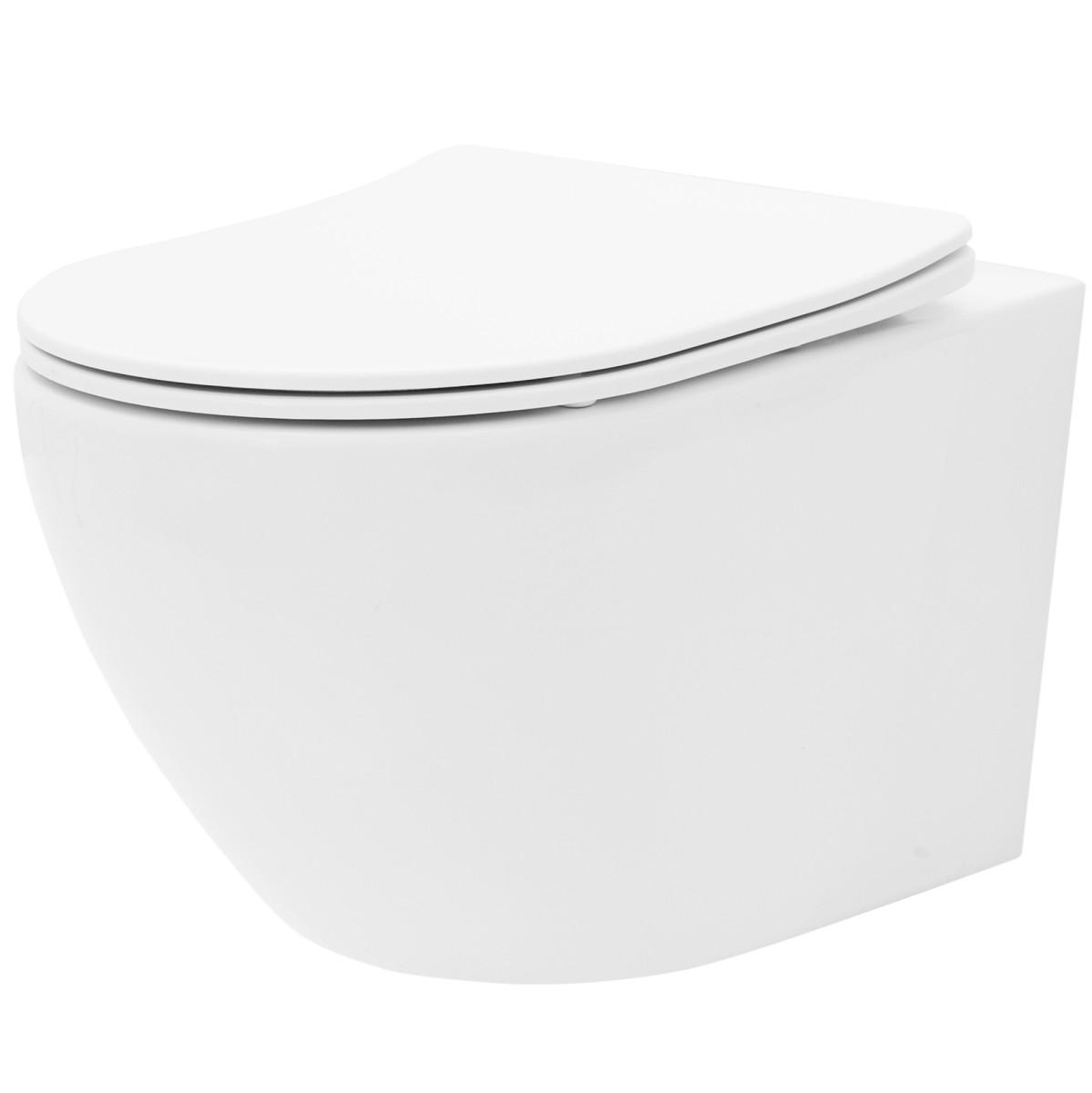 Závěsná WC mísa Carlo Flat Mini