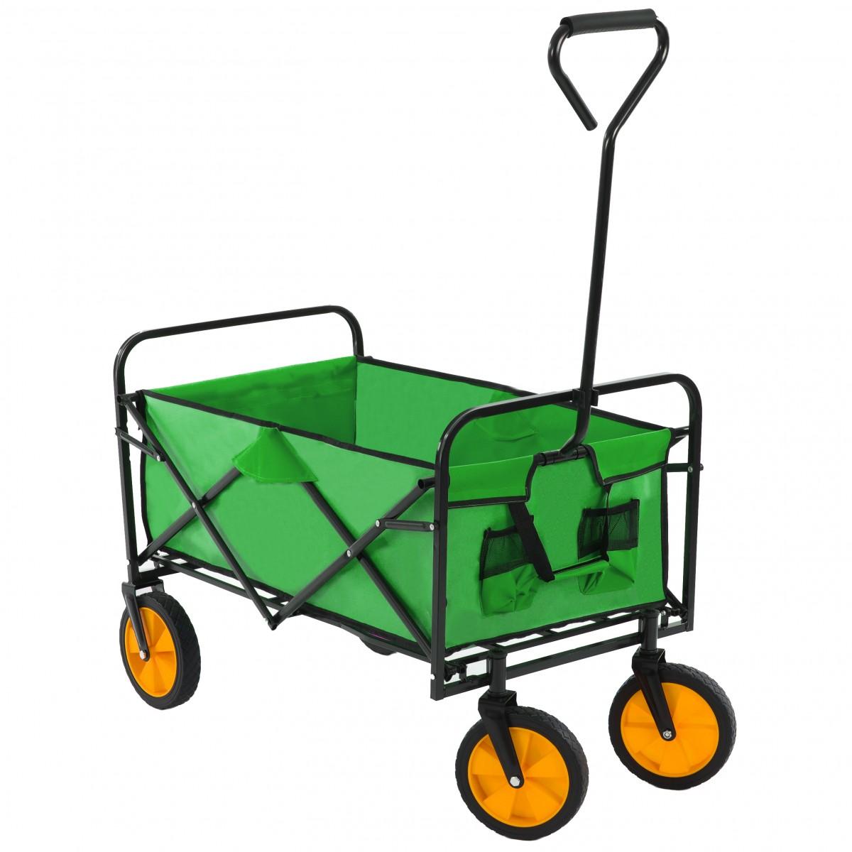 Zahradní vozík skládací BlueGarden zelený