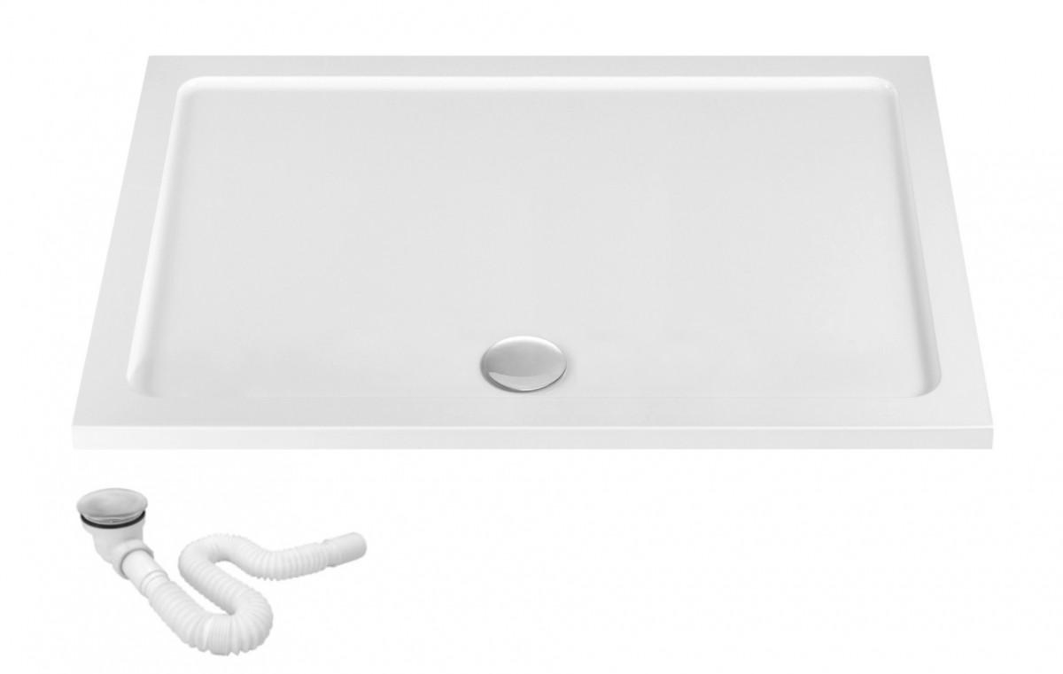Sprchová vanička REA BRENO bílá