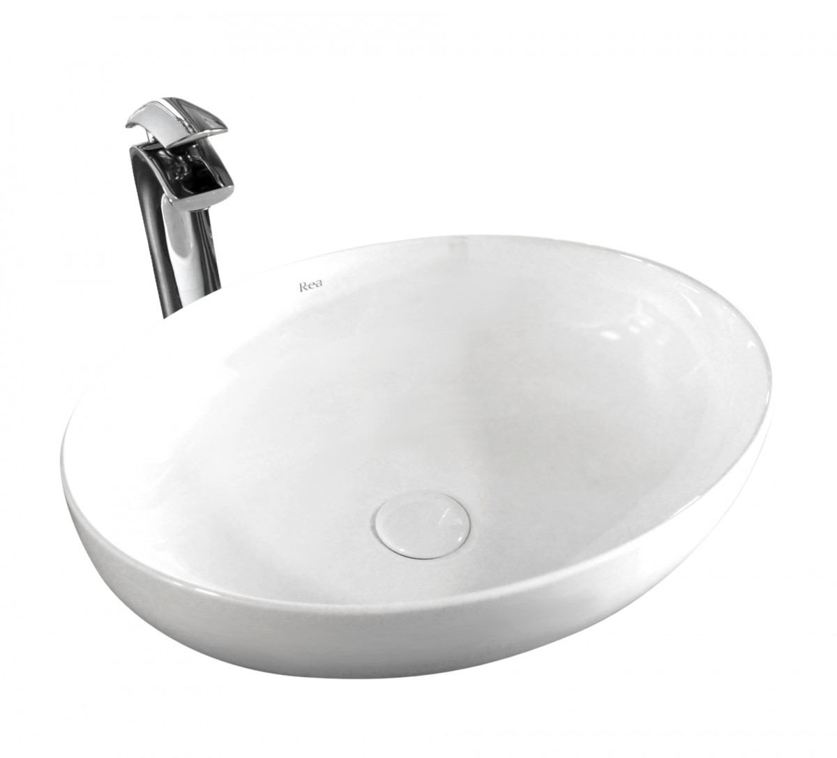 Keramické umývadlo na dosku Rea Carola Slim