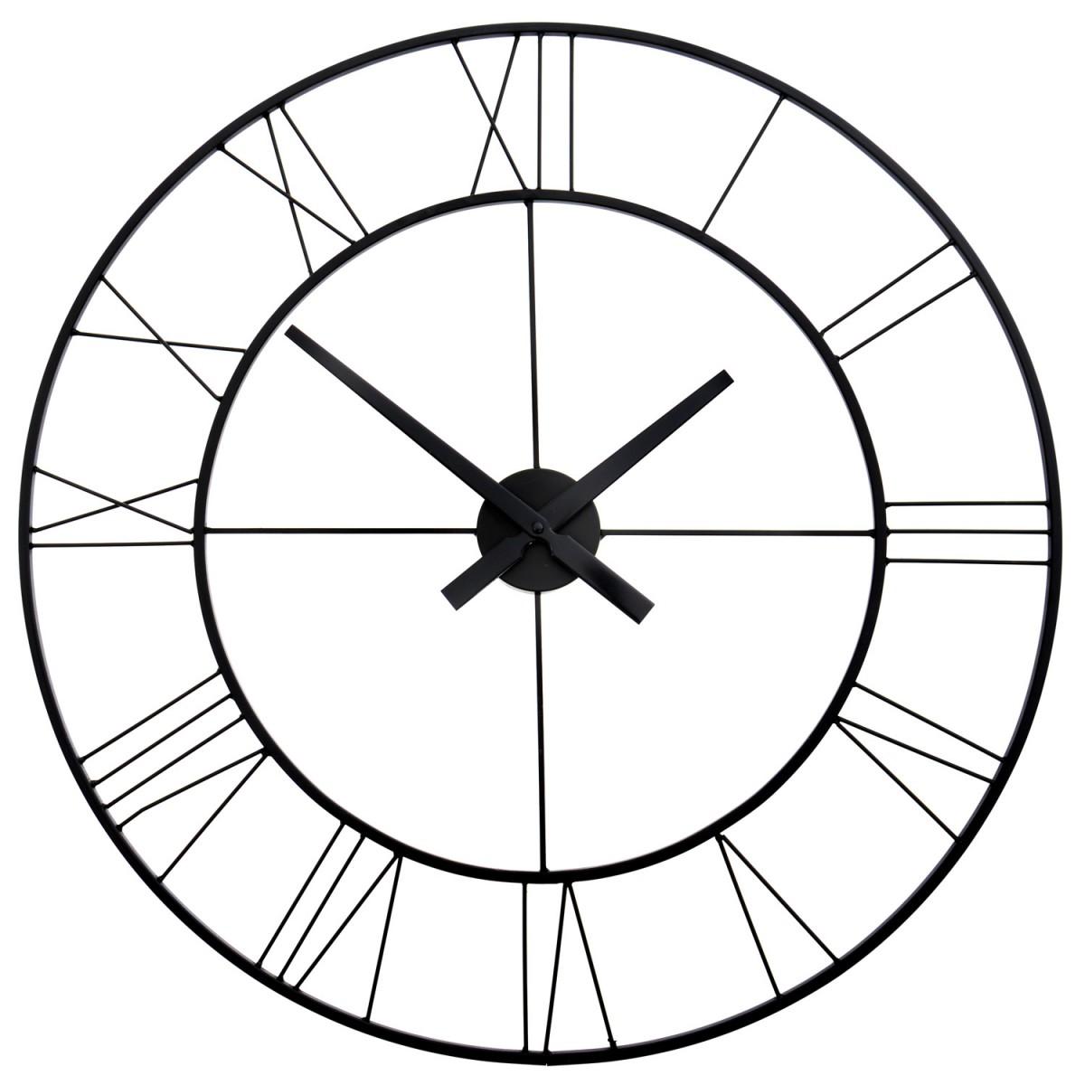 Nástěnné hodiny Loft Round 60 cm
