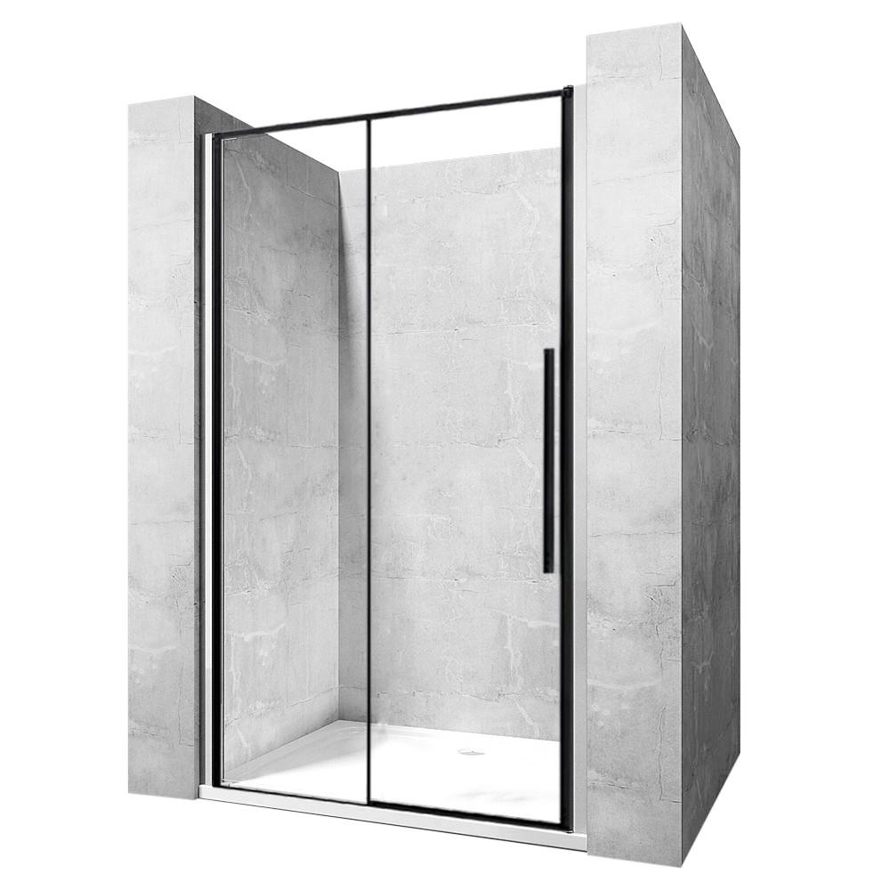 Sprchové dvere SOLAR BLACK MAT 90 cm