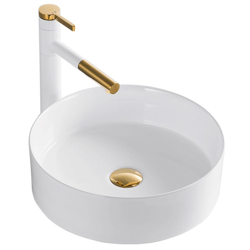 Keramické umývadlo na dosku Rea SAMI biele