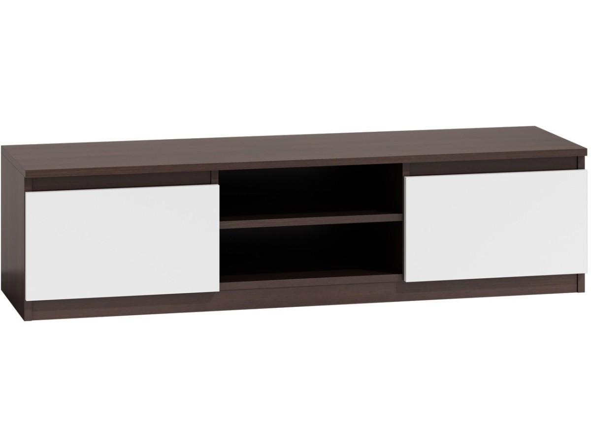 TV stolek KARO RTV LCD 140 mix tmavě hnědý