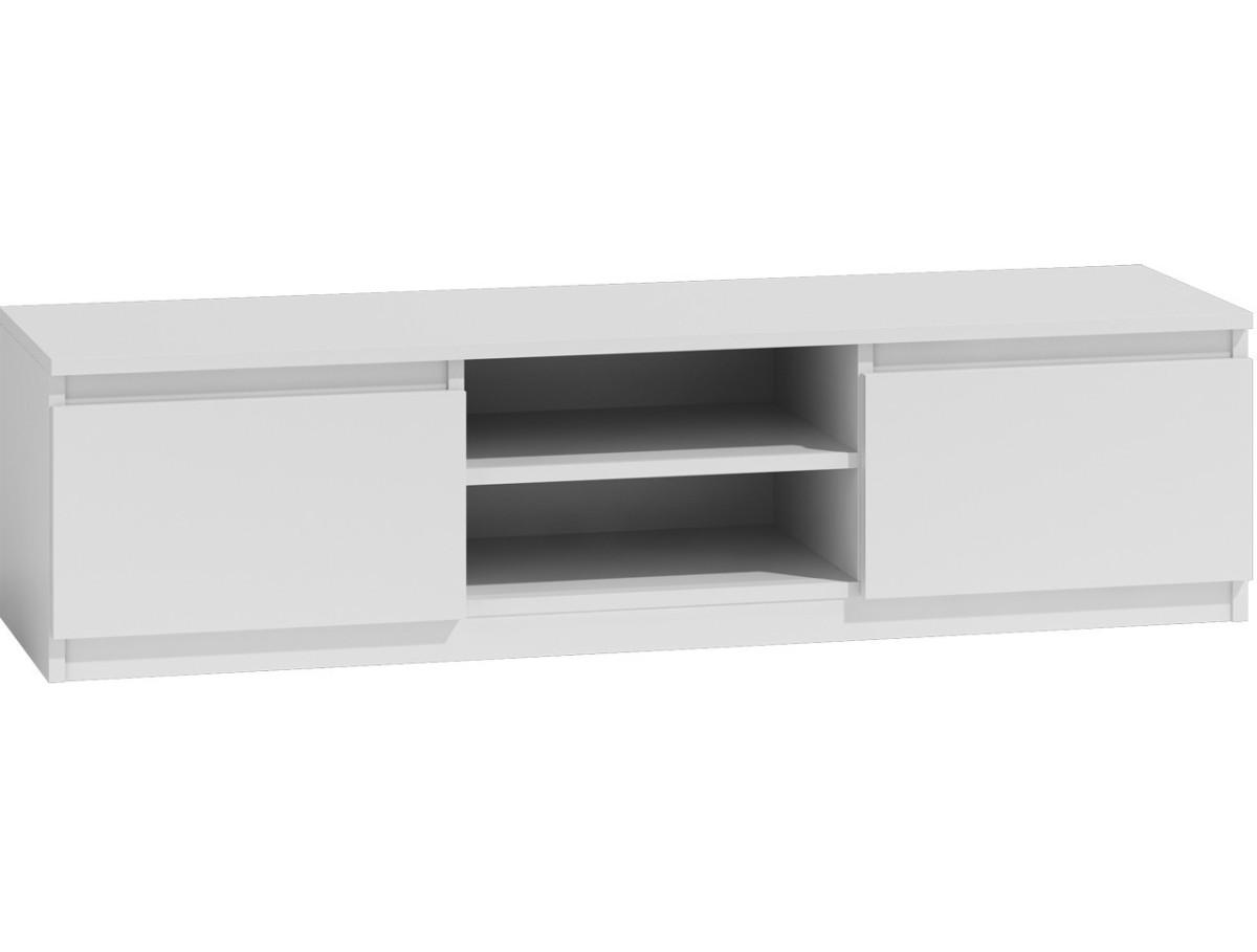 TV stolík KARO RTV LCD 140 biely