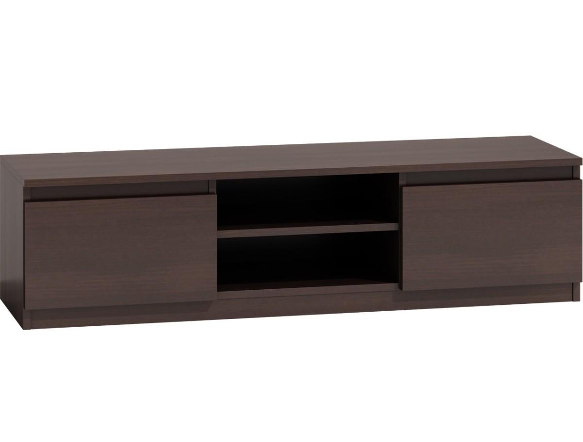 TV stolek KARO RTV LCD 140 tmavě hnědý