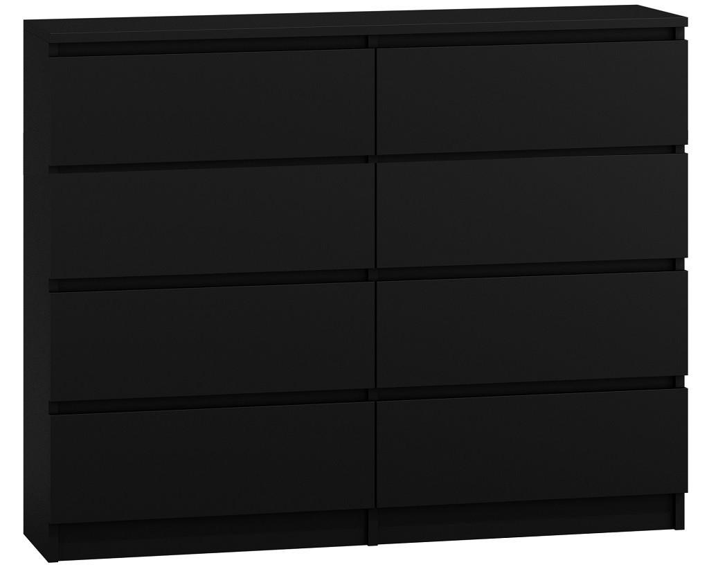 Komoda MALWA M8 120 černá