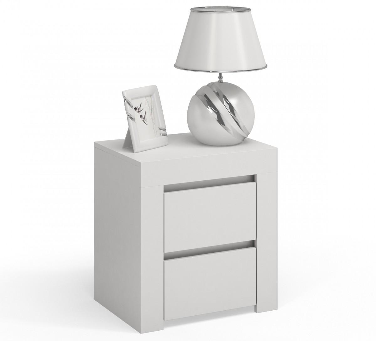 Noční stolek DEKO D2 bílý