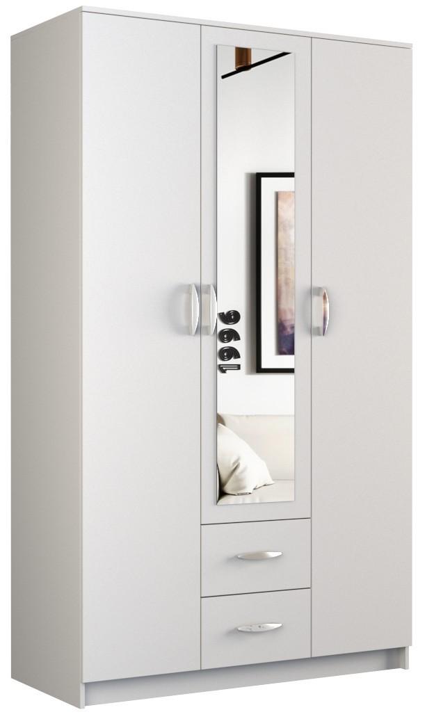 Šatní skříň ROMANA 120cm bílá