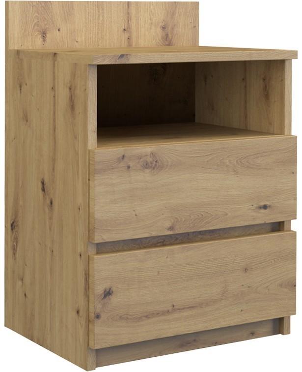 Nočný stolík MALWA M1 dub artisan