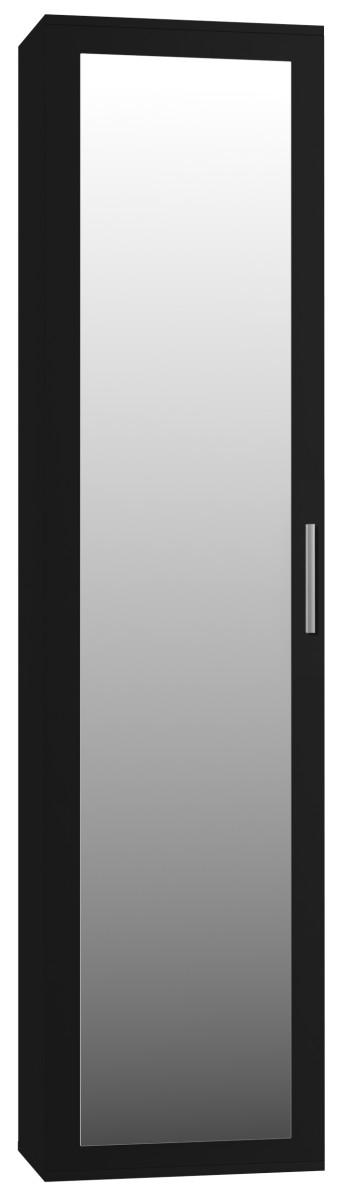 Skříň do předsíně- DUO- černá matná