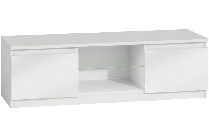TV stolek KARO RTV 120 bílý
