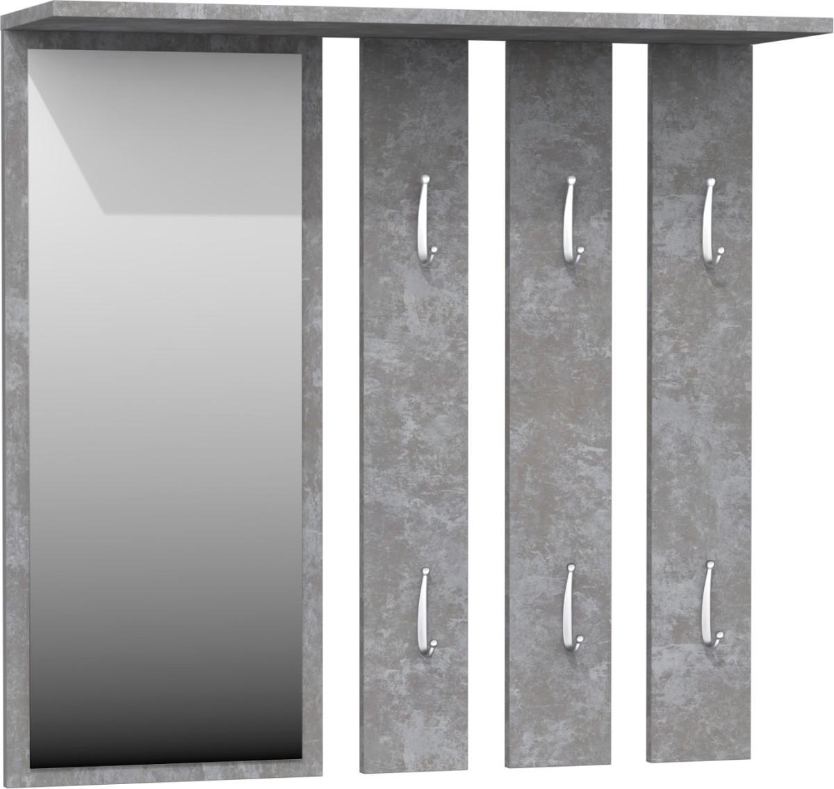 Predsieňová vešiaková stena Hanger šedá