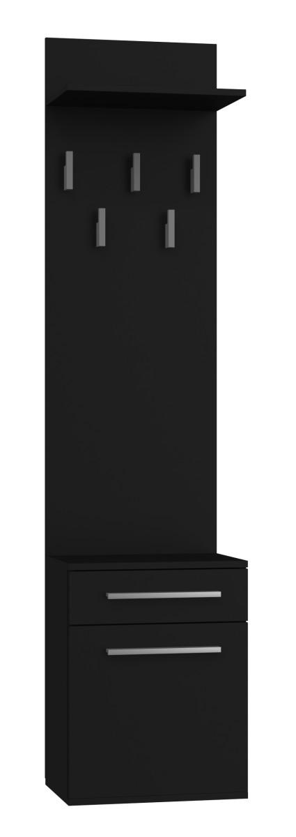 Předsíňová skříň Duo černá