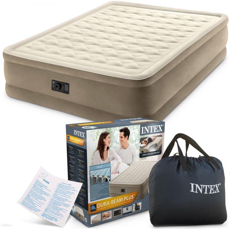 Nafukovací matrace s pumpičkou INTEX béžová