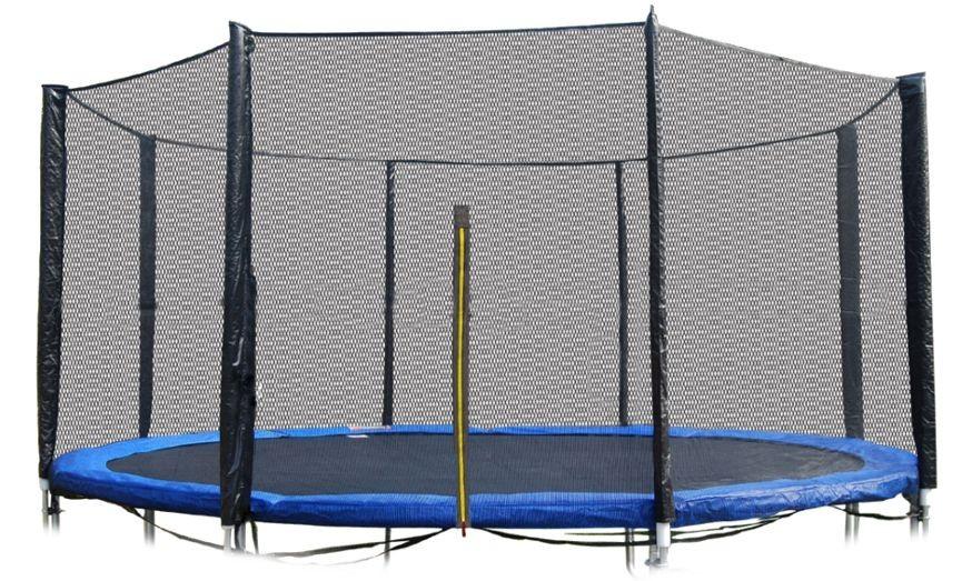 Vnější ochranná síť na trampolínu 366 cm - 8 tyčí