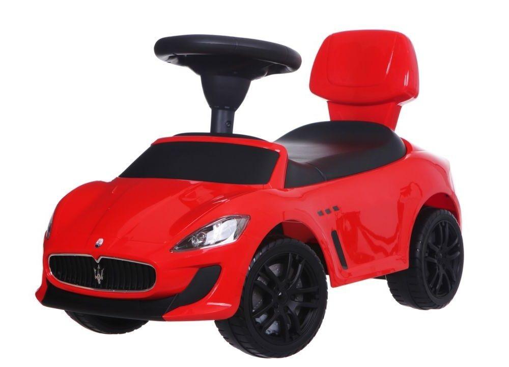 Detské odrážadlo auto Maserati červené