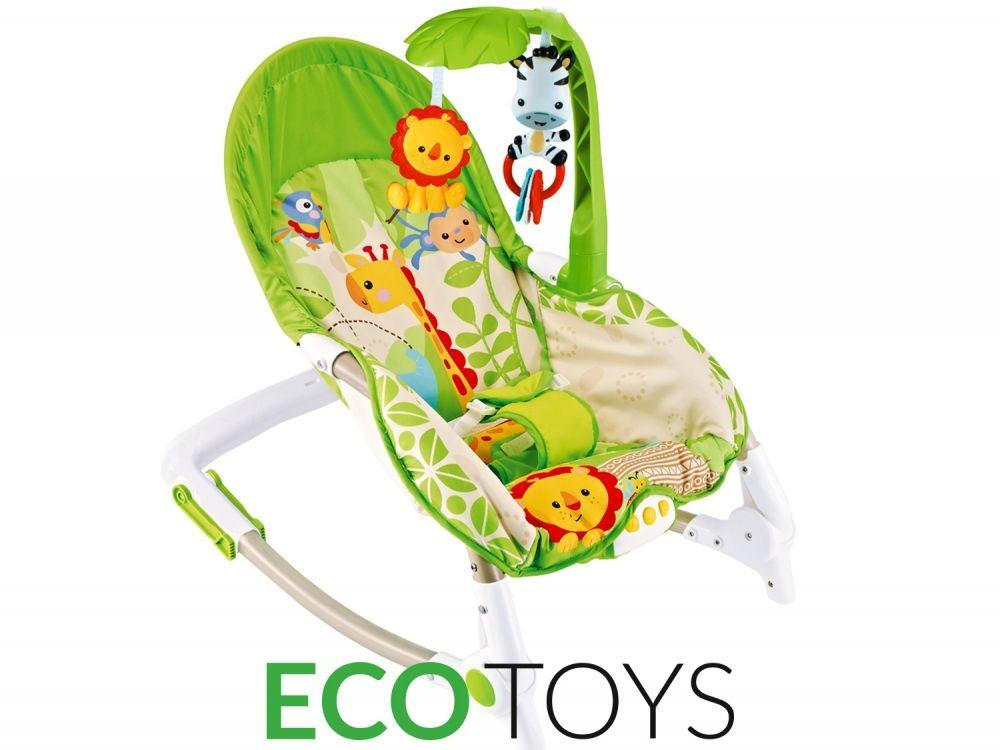 Dětské vibrační lehátko Eco Toys s hudbou