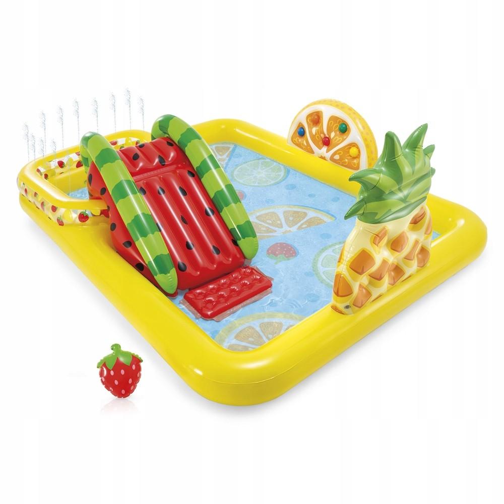 Nafukovací bazén FRUIT žlutý