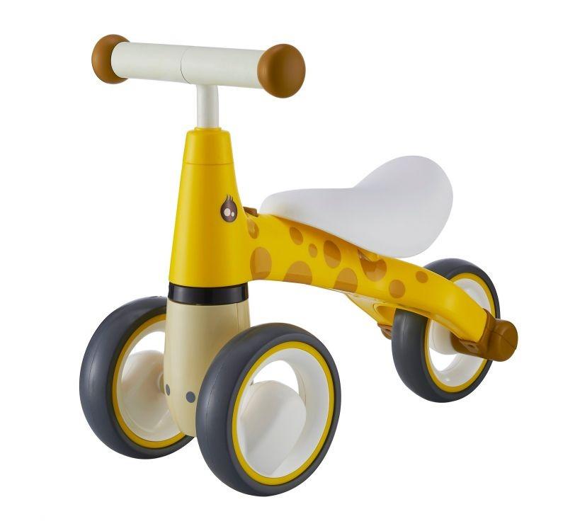 Detské odrážadlo Žirafa EcoToys žlté