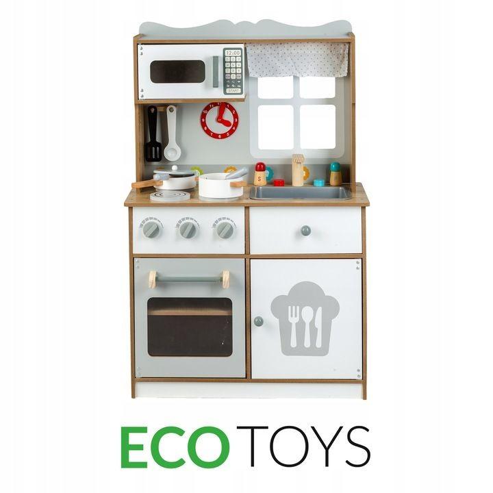 Dřevěná kuchyňka pro děti Eco Toys