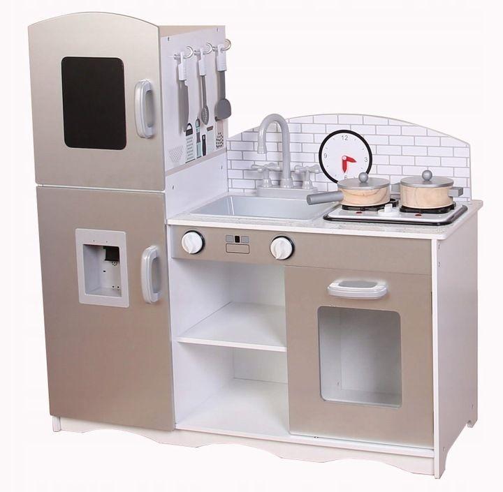 Dřevěná kuchyňská linka se sporákem XXL Eco Toys