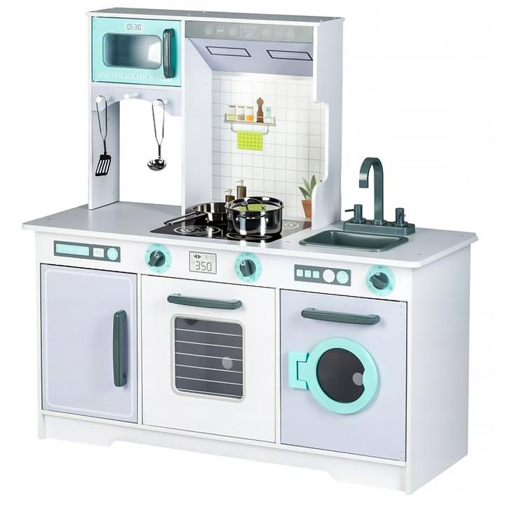 Drevená kuchyňa s príslušenstvom Eco Toys – falso