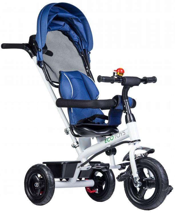 Dětská tříkolka JM-068-11H BLUE EcoToys - modrá