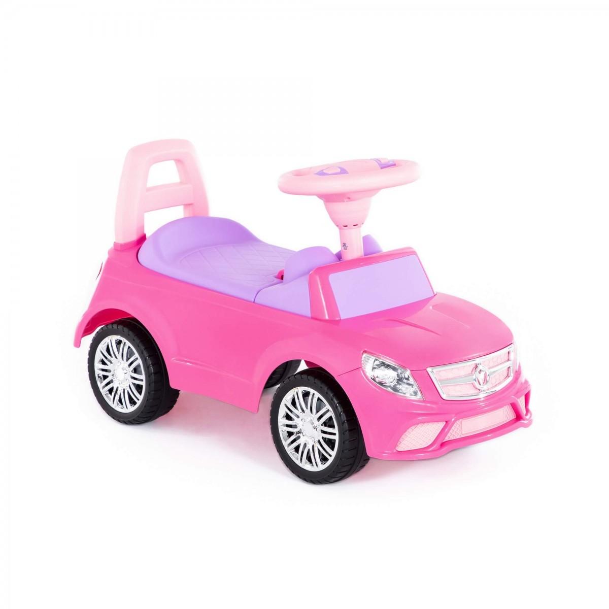 Detské odrážadlo SuperCar Drive Ladies ružové/fialové