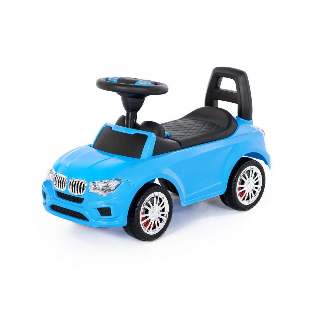 Detské odrážadlo SuperCar Race modré